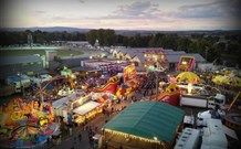 The Bathurst Royal Amusements from the Air