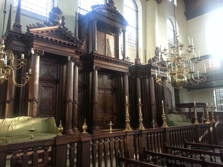 Portugese Synagoge in Amsterdam, Noord-Holland