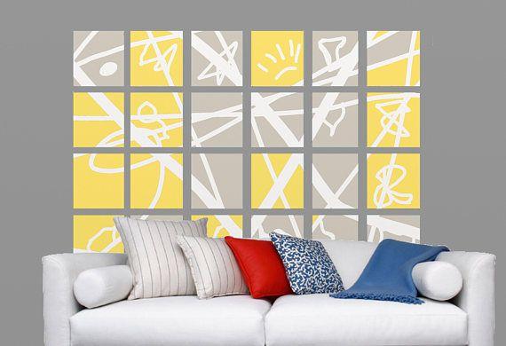 26 best Elsabell Modern Art images on Pinterest | Block wall ...