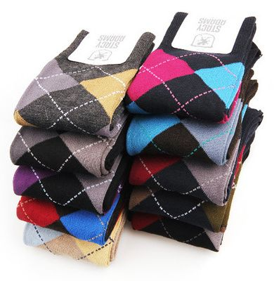 10 pairs of Stacy Adams Mens Argyle Dress Socks for $18 shipped! (reg $6/pair)