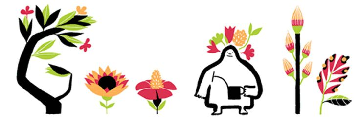 Spring equinox 2014: First day of spring marked by Google Doodle