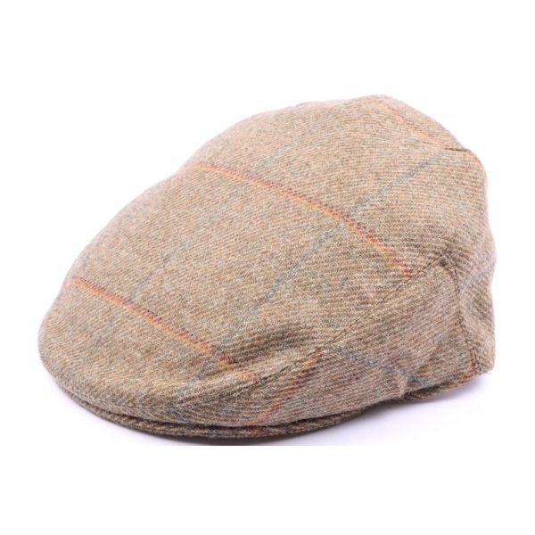 Casquette Plate Hereford Tweed Vert, Bleu, Rouge Taille 58 #casquette #mode #homme #fashion #chic #british