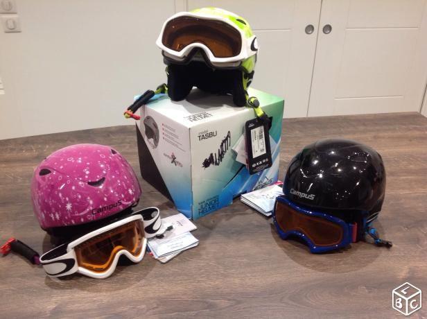 Casques ski + Masque Ski