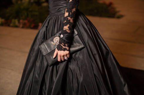 Modelos de vestido de noiva punk