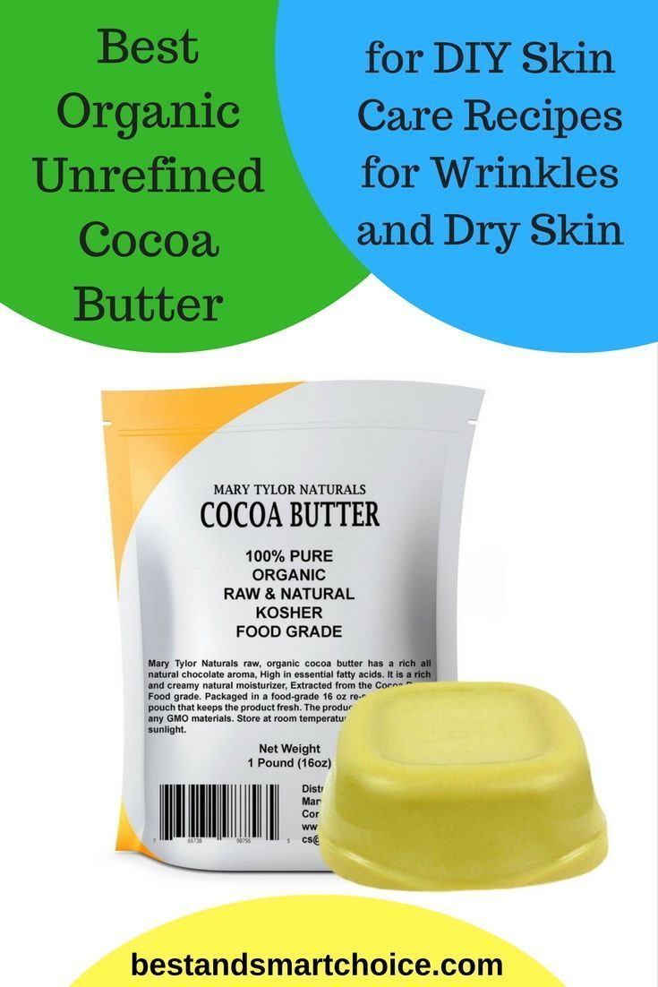Best Organic Unrefined Cocoa Butter For Diy Skin Care Recipes For