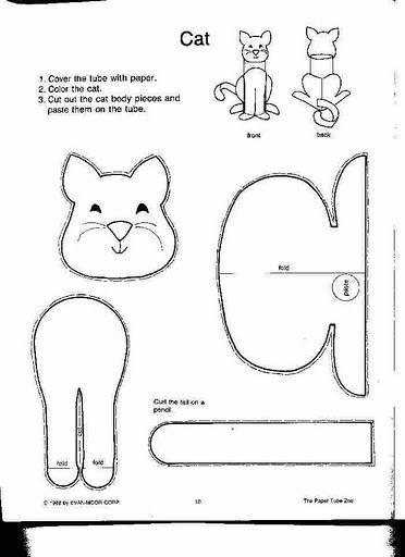 Dog Toilet Roll Craft