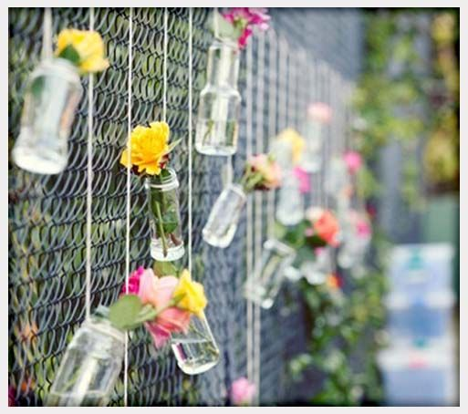 Best covering a chain link fence images on pinterest