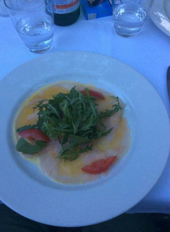 Carpaccio di Pesce Spada !! #carpaccio #carpacciodipescespada #food #madeinitaly #italianfood #munich #germany