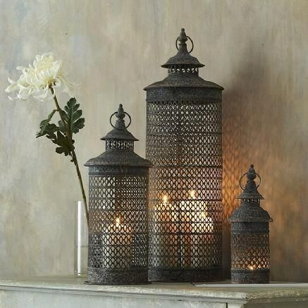 Moroccan lamps - exquisite!