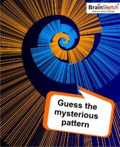 Guess the Mysterious pattern part-2  #guesswhat   #guesspattern   #brainsketch   #creativeideas   #creativity   #nature   #part3
