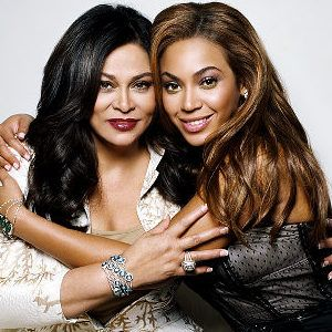 Beyonce Knowles-Carter and her mother Tina Knowles