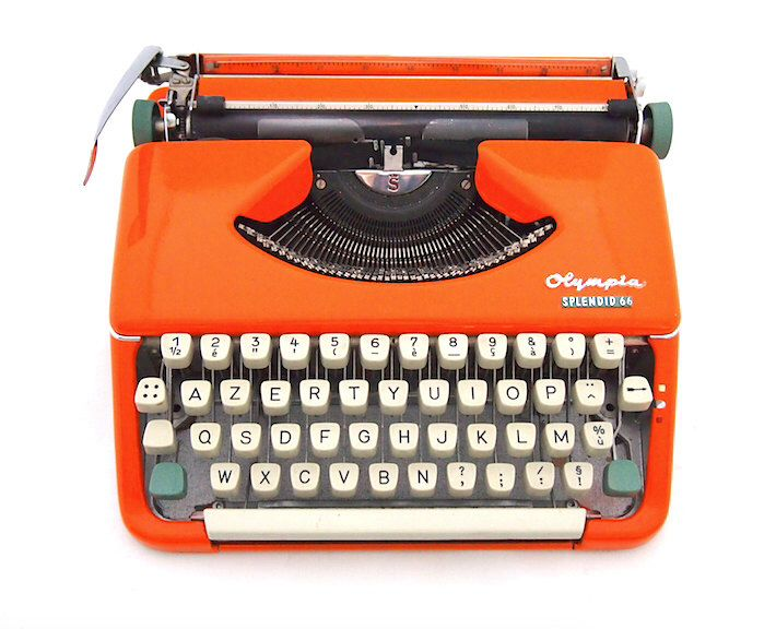 dating olympia typewriter