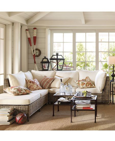 195 Best Hamptons Style Images On Pinterest Living Room