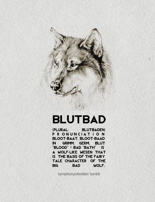 Moda e Eu : Criaturas Grimm | Blutbad