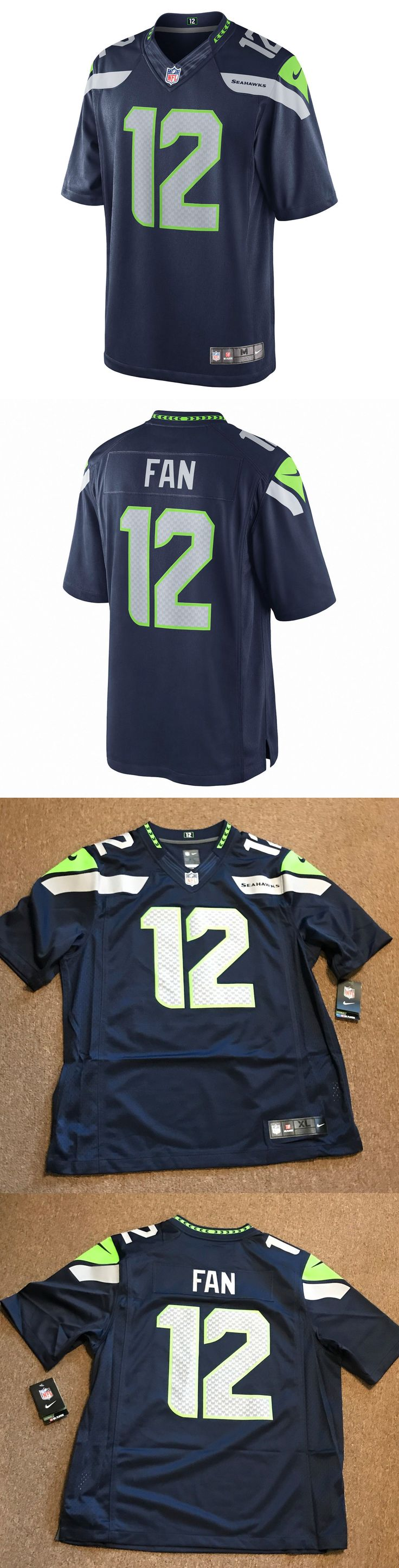 Football-NFL 206: Nike Nfl Seattle Seahawks Limited Jersey Mens Stitched #12 Blue 12Th Man Fan -> BUY IT NOW ONLY: $55.09 on eBay!