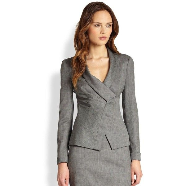 A beautiful Armani Suit also seen in the series the Good Wife