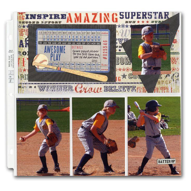 Sports Baseball Hybrid Layout