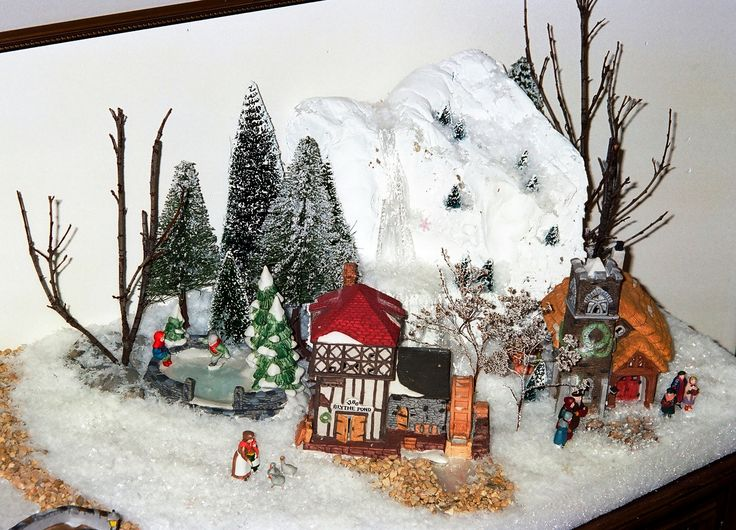 Vintage Dickens' Village Display   Joe Haupt   Flickr