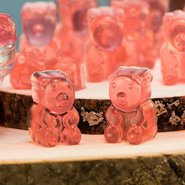 Diy rose gummy bears tipsy bartender recipe homemade