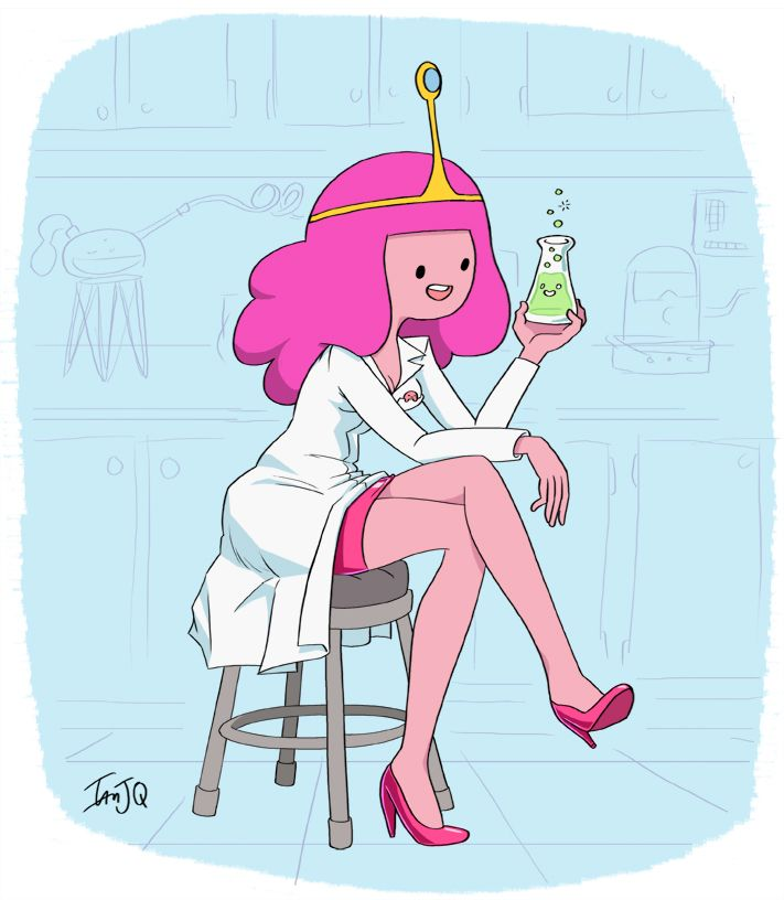 """The zombie infection has spread across the kingdom once again! And once again, it's all my fault""-Princess Bubblegum"