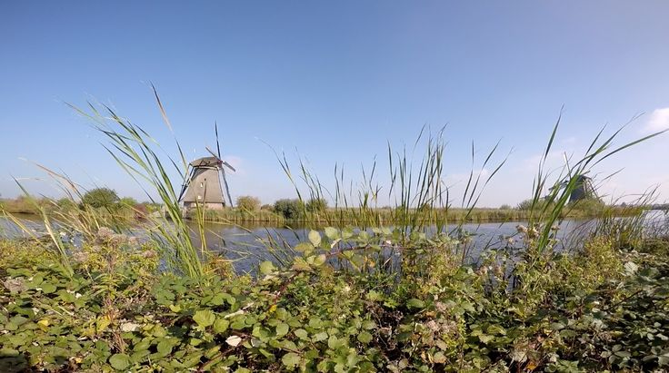 Mills at Kinderdijk The Netherlands // Gopro hero 4 silver // Annelie Baartman