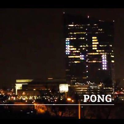 Pong tuvo un homenaje gigante en Philadelphia.