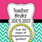 This Teacher Binder Organization Bundle is a great resource for organizing your school year! Not only is this binder visually appealing, but it's a...