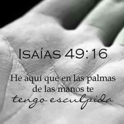 Isaías 49:16