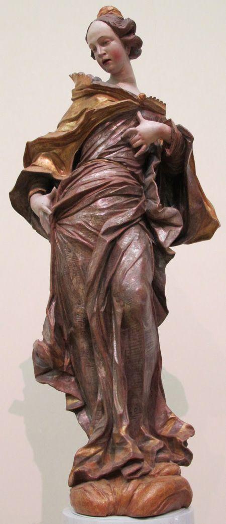 Johann Georg Pinzel: sculptures in the Baroque style from Ukraine in the XVIII century.