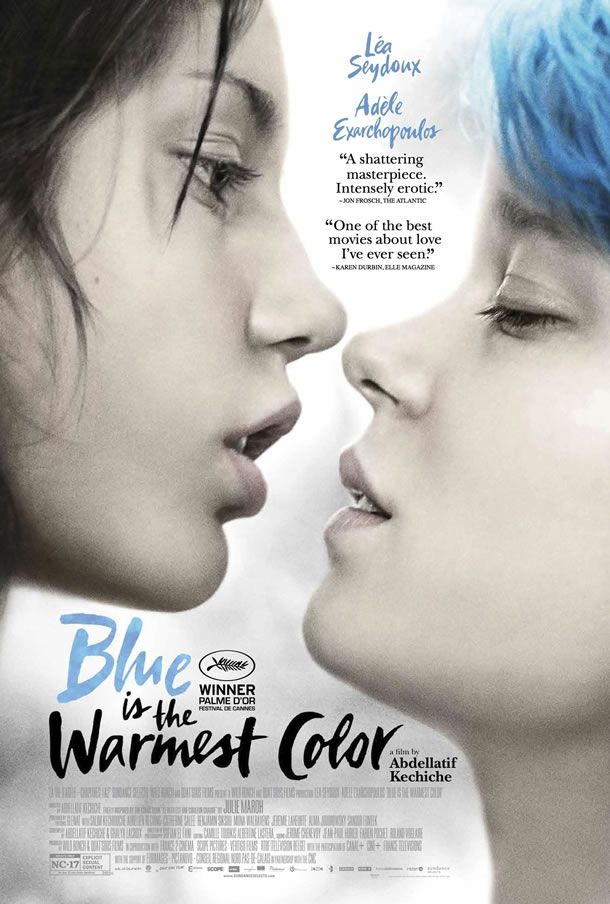 Blue is the Warmest Color was absolutely beautiful. A stunning love story. :)