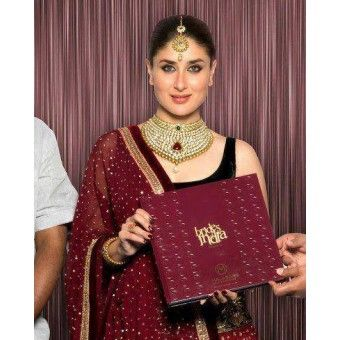 @ $51 Kareena Kapoor Bridal Jewellery Set with FREE shipping offer worldwide.