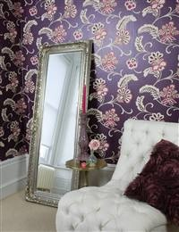 Love the mirror (but quite like the wallpaper too!)