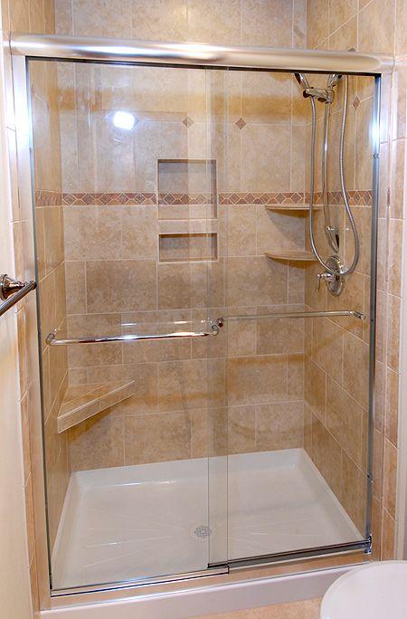 17 Best images about Shower door options on Pinterest | Frameless ...