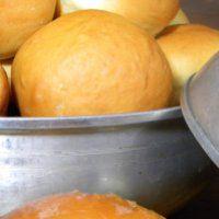 Homemade rolls, yum!