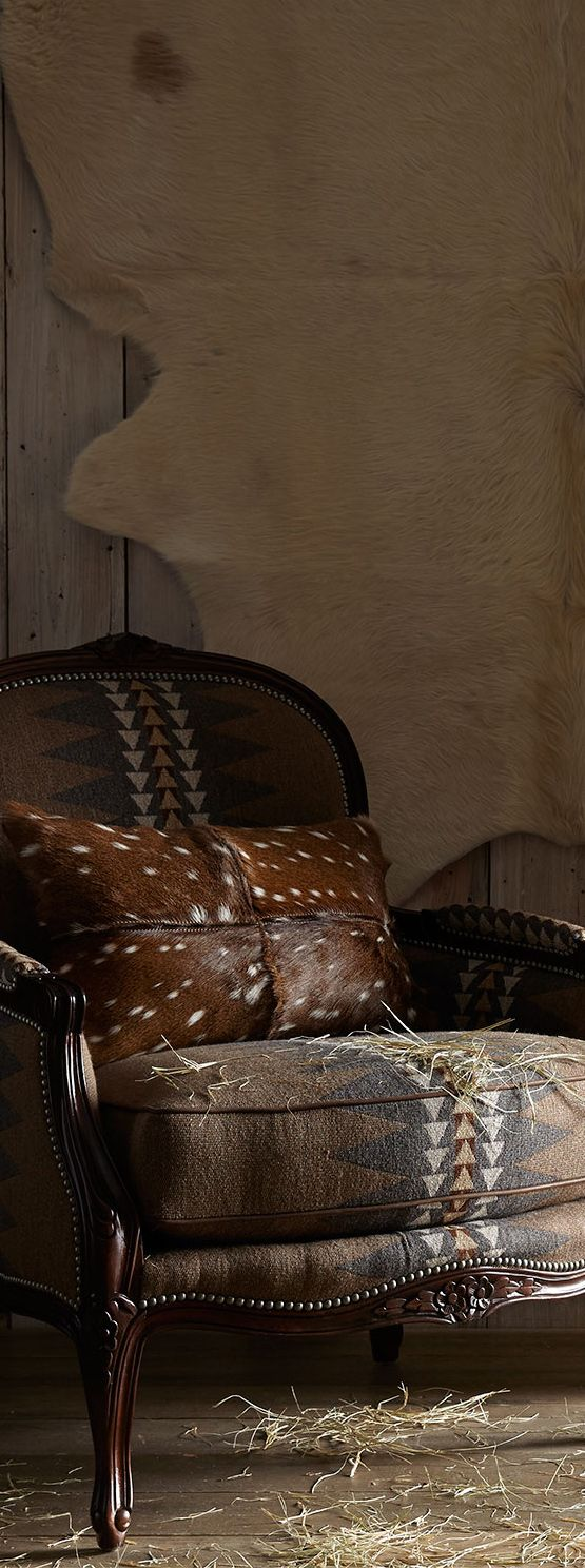 Rustic Western Chair
