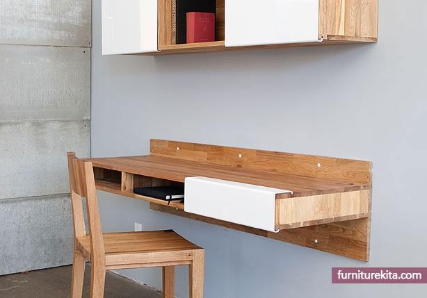 Meja Kerja Gantung Furniture Pinterest
