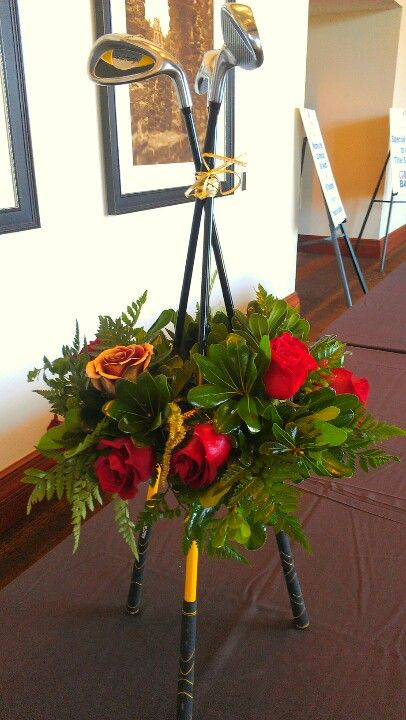 Golf tournament florals Our Residential Golf Lessons are for beginners, Intermediate & advanced. Our PGA professionals teach all our courses in an incredibly easy way to learn and offer lasting results at Golf School GB www.residentialgolflessons.com