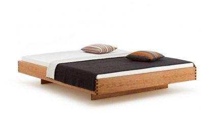 Bett Step-X mit Holzkufen | Green Living - Ökomöbel