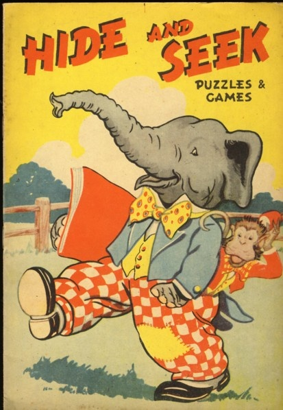''HIDE AND SEEK PUZZLES & GAMES'' DINKY SERIES, 1940/50s