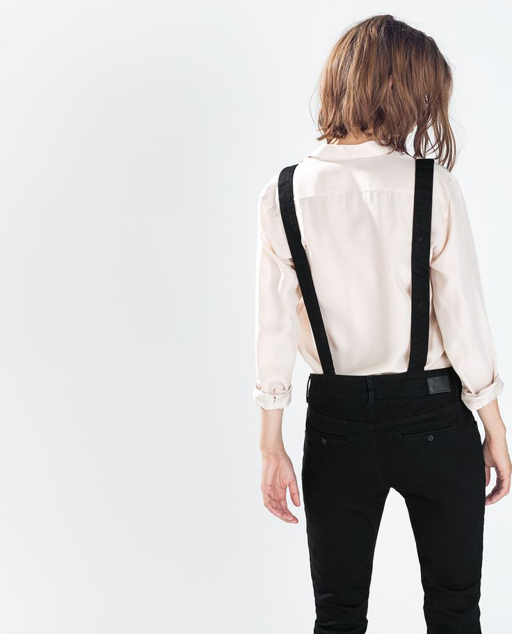 Zara Black Dungarees - so excited for mine to arriveeee