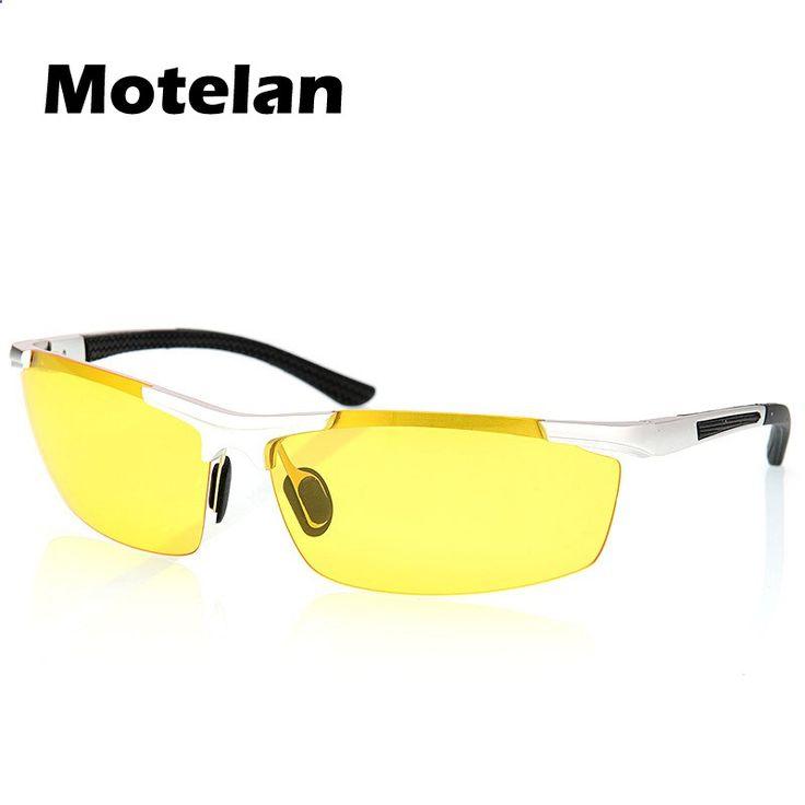 New mens polarized mirror motion night vision goggle man night special driving fishing sunglasses oculos de visao noturna