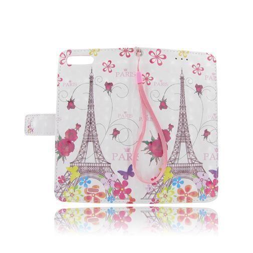 Paris Eiffel Tower Flip Leather Case Cover Folio Pouch For Apple iPhone 7 7Plus #UnbrandedGeneric