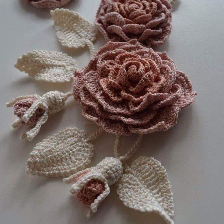 #розы #rose #crotchet #irishlace #IrishCrochet #etsyshop #bags #etsyfinds #fashion #вязание #вязаниеназаказ #житомир