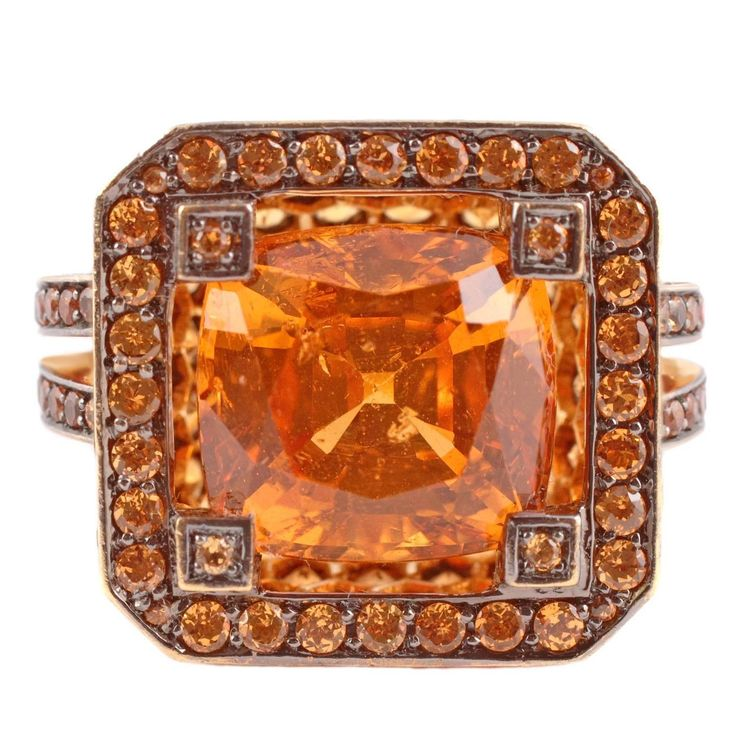 17 best images about mandarin spessartite red garnet on for Carolyn tyler jewelry collection