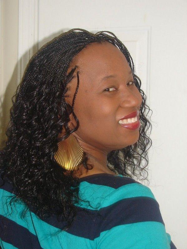 9 best 100% Human Hair Micro Braids images on Pinterest ...