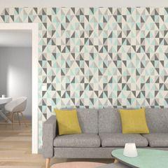 Dynamisez vos murs avec cet intissé ICEBERG. Son coloris vert menthe vous apportera fraîcheur et détente au quotidien.  Revisitez l'esprit rétro des années 50 pour un style douillet et tendance, imprégné de souvenirs du passé.  Le design scandinave donne le ton avec ses matières naturelles (bois blond, laine, textiles) et ses lignes pures et sobres.  Les motifs géométriques affirmés réveillent les murs, adoucis par une palette de tons pastel. L'ambiance se complète d'objets chargés…