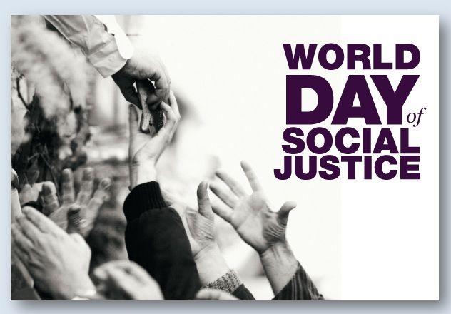 Aricolo dedicato alla Giornata mondiale della giustizia sociale