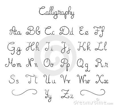 cool easy fonts to draw by hand - Google Search