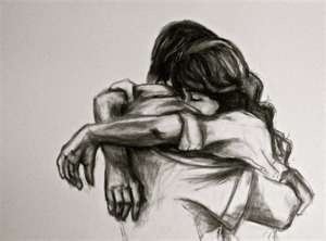 I love hugs <3 just had to pin it cause i love drawings like this