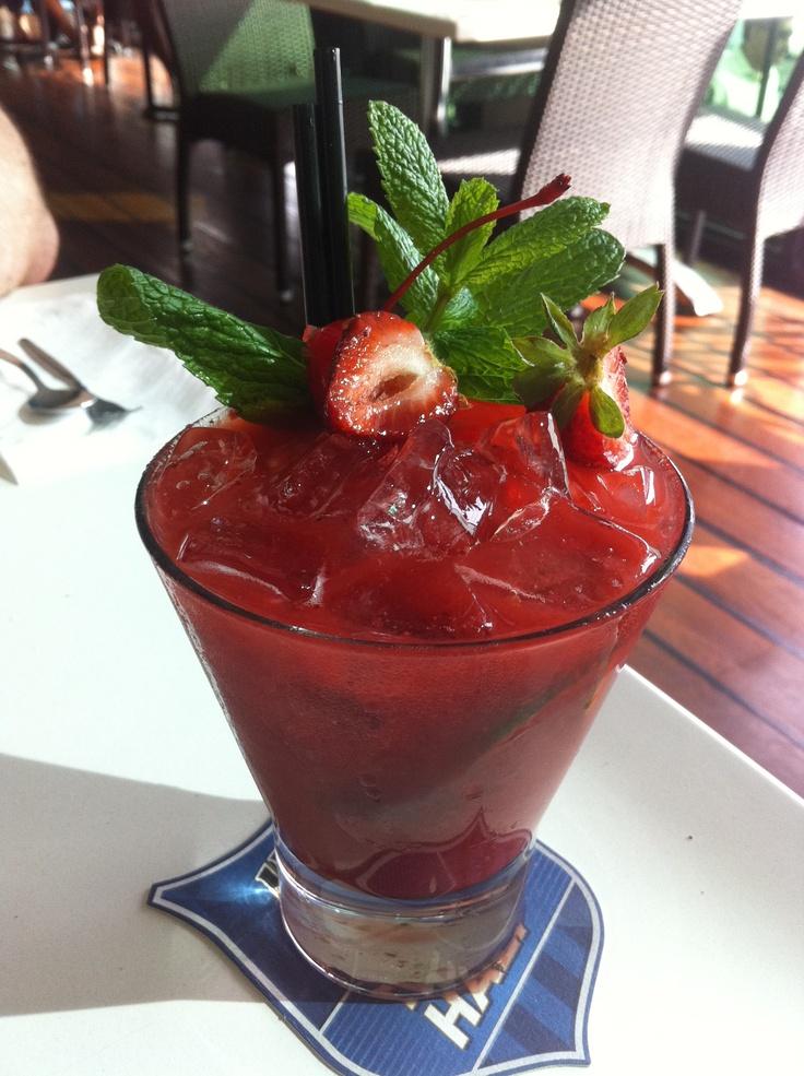 Strawberry Caprioska